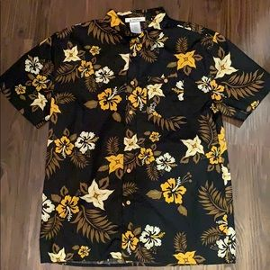 DisneyParks Hawaiian Shirt Medium Mickey